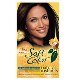 Tintura Soft Color Nv 30 Castanho Escuto