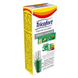 Tônico Capilar Tricofort Ampolas 2 Und