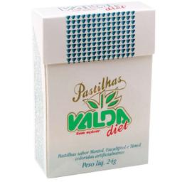 Pastilha Valda Diet Fliptop 24 g