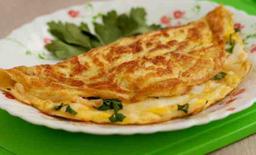 Omelete Simples + Refri 200ml Brinde