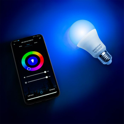 Lampada Led Controle Aplicativo Bivolt