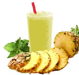 Suco Natural de Abacaxi com Hortelã - 300ml