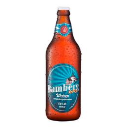 Cerveja Bamberg Weizen - 600ml (Trigo)