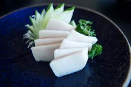Sashimi Peixe Branco - 8 Cortes