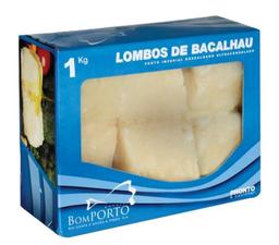 Bacalhau Bom Porto Lombo Macro 1 Kg