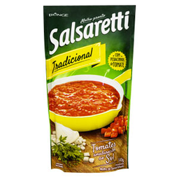 Molho De Tomate Salsaretti Tradicional Sachê 340 g