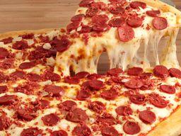 Pizza de Calabresa com Mussarela 8 Pedaços