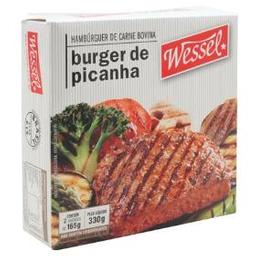 Wessel Hambúrguer Bovino De Picanha Caixa