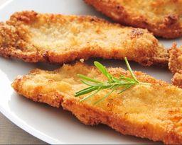 File de frango a milanesa