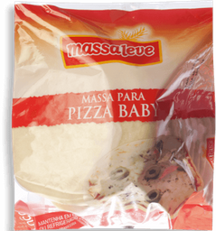 Massaleve Massa Para Pizza Baby