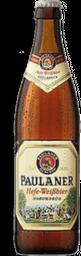Cerveja Alemã Paulaner Hefe-Weiss 500 mL - Cód 299091