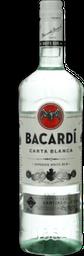 Rum Bacardi Carta Blanca 980 mL - Cód 299206