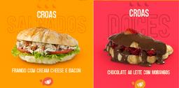 Combo - Frango Creasm Cheese + Chocolate ao Leite com Morango
