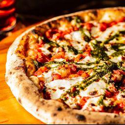 Pizza Burrata Al Pesto