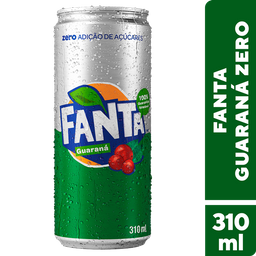 Fanta Guaraná Zero 310ml