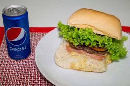 X-salada + refrigerante 269ml