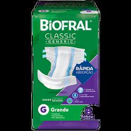 Fralda Descartável Biofral Classic Generic G 8 Und