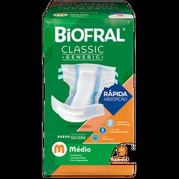 Fralda Descartável Biofral Classic Generic M 9 Und