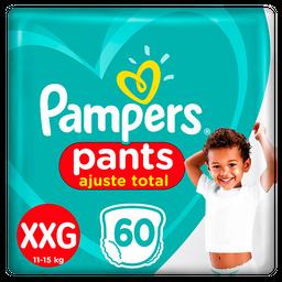 Fralda Pampers Pants Confort Sec Top Xxg Com 60 Und