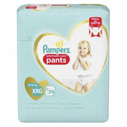 Fralda Pampers Pants Mega Xxg Com 24 Und