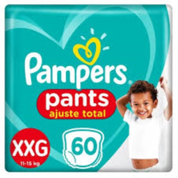 Fralda Pampers Pants Top Xxg Com 60 Und