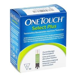 Tiras One Touch Select Plus Flex Meter Only 50S Gratis
