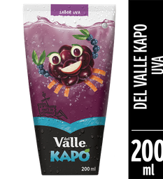 Del Valle Kapo Uva 200ml