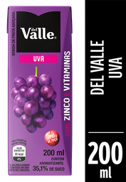 Del Valle Néctar de Uva 200ml