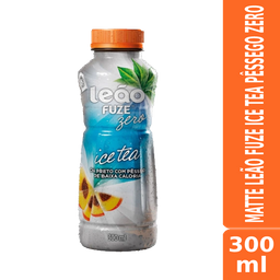 Matte Leão Ice Tea Pêssego Zero 300ml