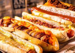 Hot dog de frango + Refrigerante 200ml