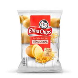 Batata Palha Elma Chips Na Mesa