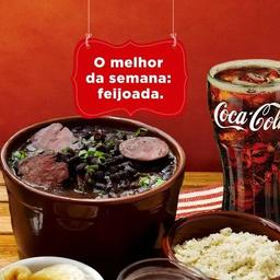 Feijoada + Refri + Farofa