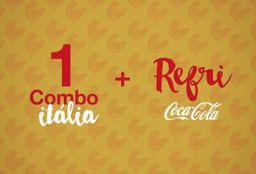 Itália e Refrigerante - 1 Pessoa