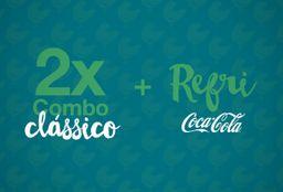Clássico e 2 Refrigerantes - 2 Pessoas