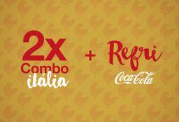 Itália e 2 Refrigerantes - 2 Pessoas