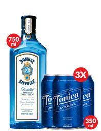 Combo Gin Tônica Bombay Sapphire