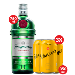 Combo Gin Tônica Tanqueray