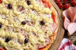 Pizza Catupiry e Lombo