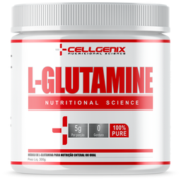 Glutamine 100% Pure Cellgenix 300 g