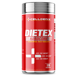 Dietex Hardcore Cellgenix 120 Cápsulas
