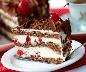 Cheesecake floresta negra - 150g