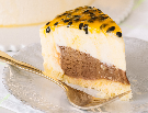 Cheesecake de mousse de maracujá com nutella - 150g