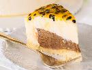 Torta de maracujá com nutella e chocolate