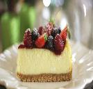 Cheesecake zero açúcar de frutas vermelhas
