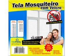 Tela Mosquiteiro 1,25X1,25M Velc.Vi