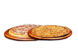 Combo 2 Pizzas Tradicionais e Coca-Cola 1L
