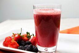 Morango - suco da fruta de verdade