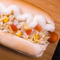 22 - hot dog frango simples catupiry original