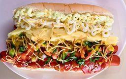 12 - hot dog frango simples cheddar
