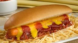17 - hot dog calabresa duplo cheddar